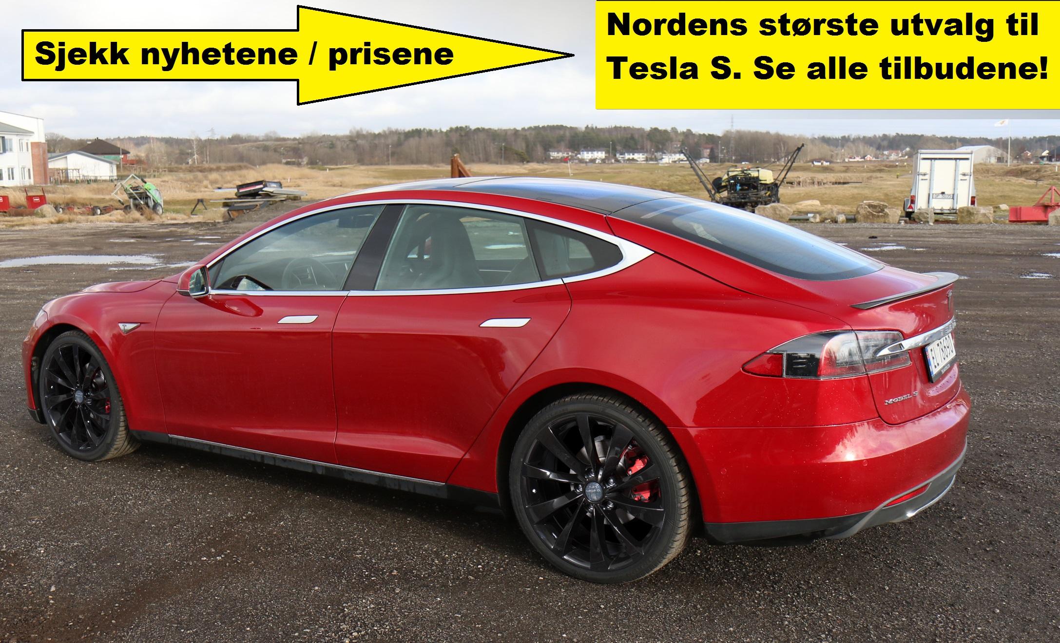 felger og sommer dekk til Tesla Model S