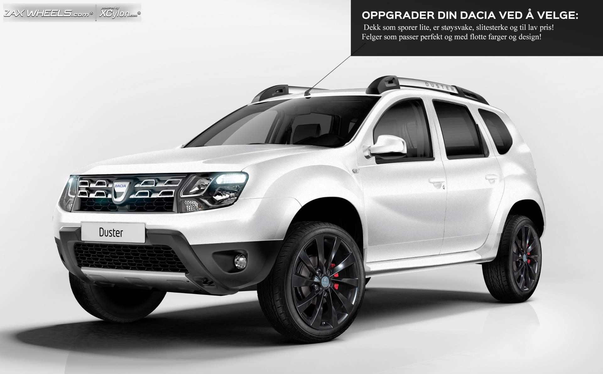 rims and tires for dacia duster 10 up megahjul. Black Bedroom Furniture Sets. Home Design Ideas