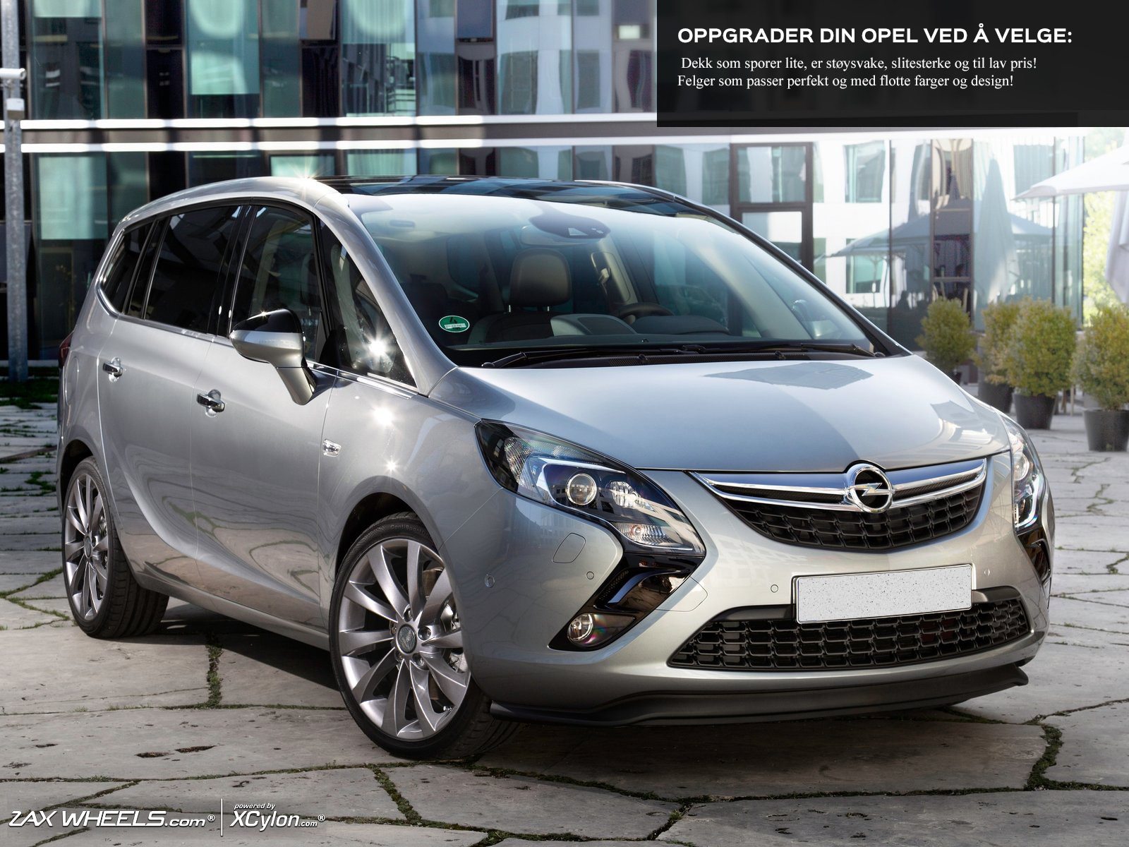 rims and tires for opel zafira a 98 05 megahjul. Black Bedroom Furniture Sets. Home Design Ideas