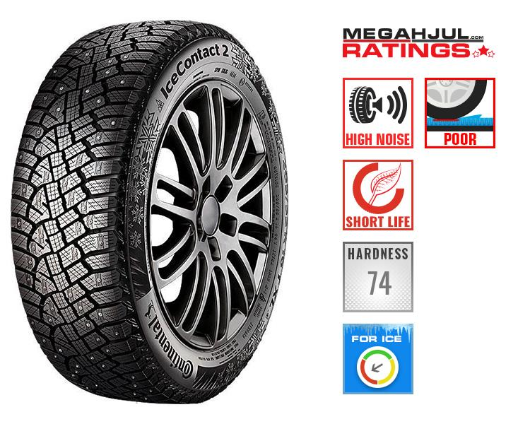 245/45R19 CONTINENTAL ICECONTACT 2 102T