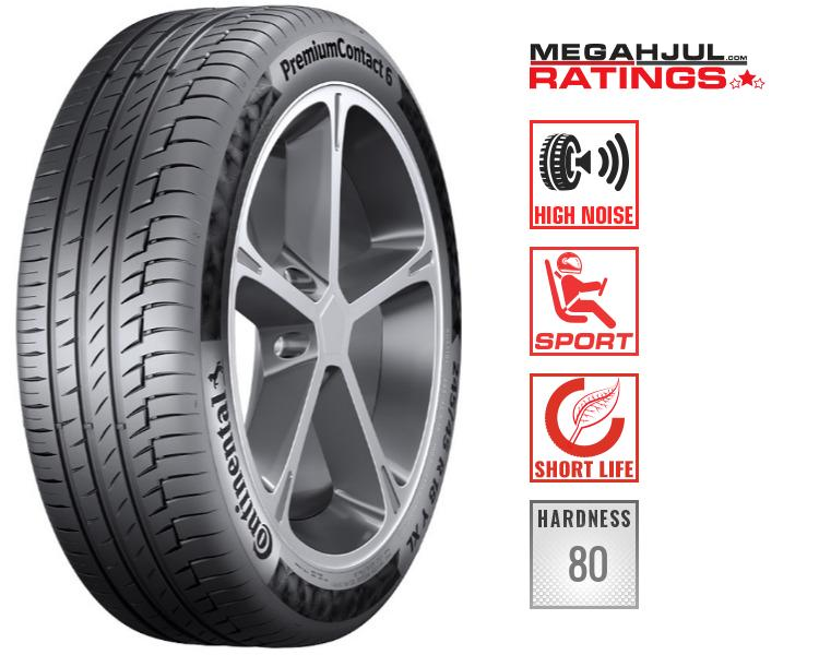 245/45R19 CONTINENTAL PREMIUMCONTACT 6 SILENT AO 102Y