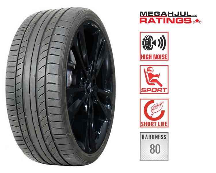 245/45R19 CONTINENTAL SPORTCONTACT 5 SUV 98W