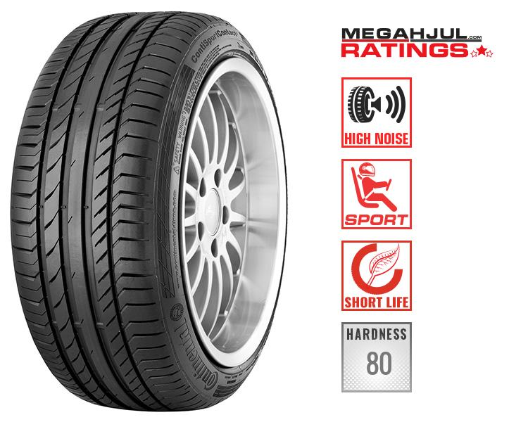 245/45R19 CONTINENTAL SPORTCONTACT 5 102Y