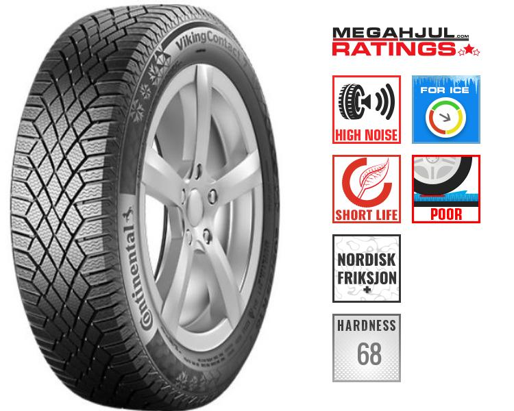 245/45R19 CONTINENTAL VIKINGCONTACT 7 102T CONTISILENT