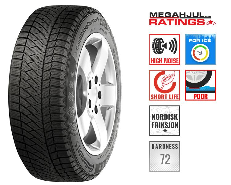 245/45R19 CONTINENTAL CONTIVIKINGCONTACT 6 SILENT 102T -TEST