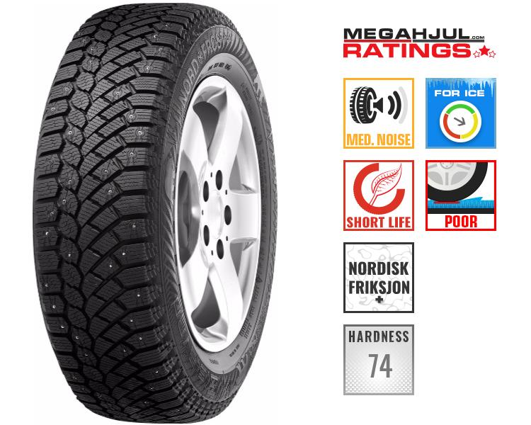 245/45R19 GISLAVED NORDFROST 200 102T - STUDS