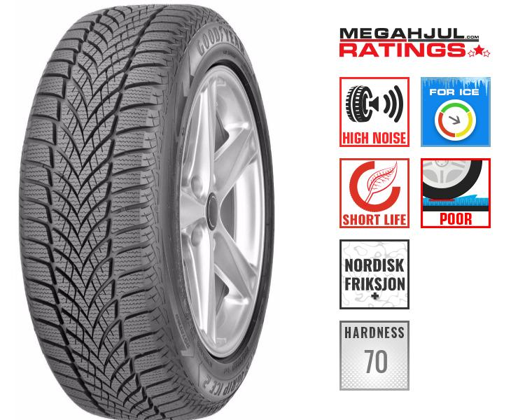 245/45R19 GOODYEAR ULTRA GRIP ICE 2 102T -TESTKJØRT