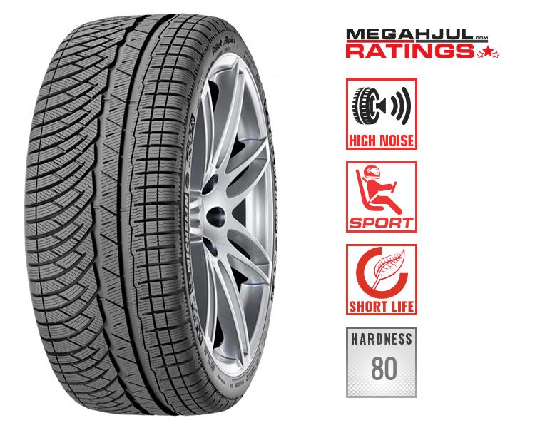 245/45R19 MICHELIN PILOT ALPIN PA4 102W