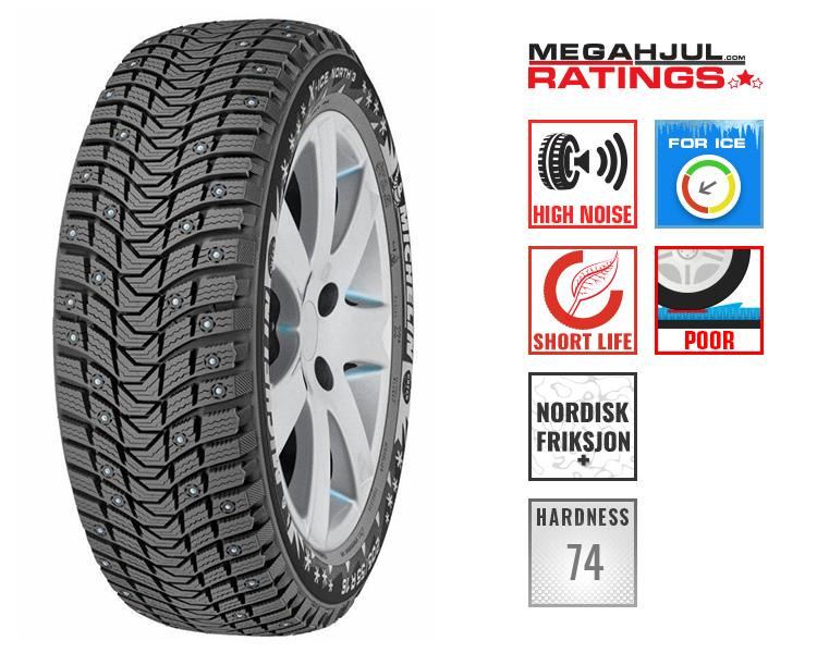 245/45R19 MICHELIN X-ICE NORTH 3 102H XL
