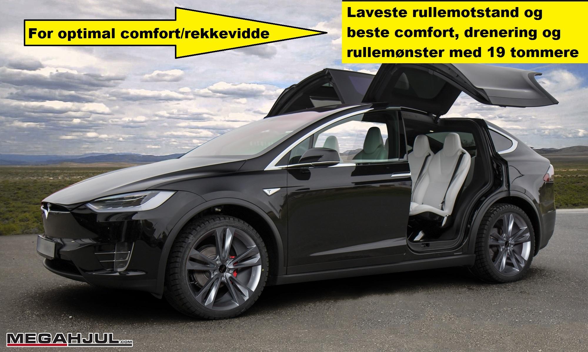 Vinterdekk til Tesla Model X
